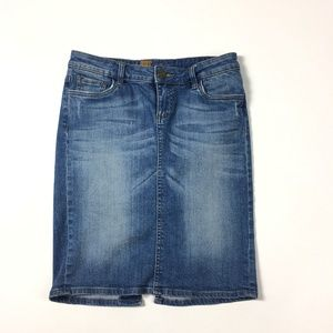 4/25 Kut from the Kloth Denim Pencil Skirt